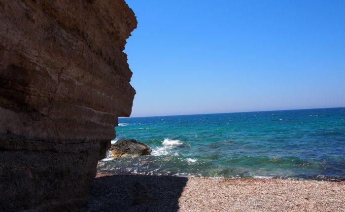 Le più belle spiagge di Rodi Monolithos