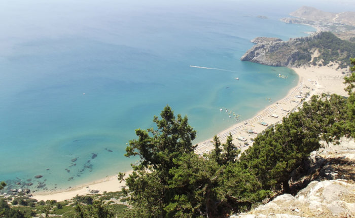 Le più belle spiagge di Rodi Stegna