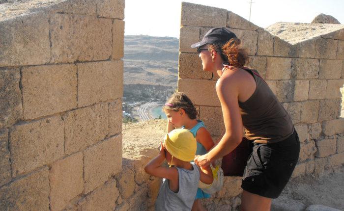 Cosa Fare con i Bambini a Rodi Acropoli di Lindos
