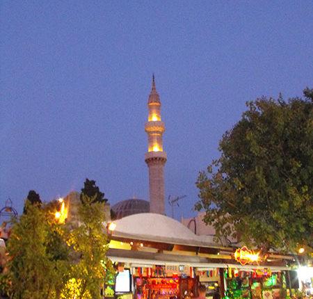 Moschea di Solimano il Magnifico di Notte