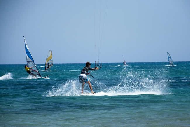 Kite surf a Prasonissi