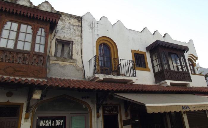 Rodi Grecia architettura ottomana della città