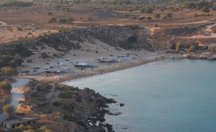 Le più belle spiagge di Rodi Spiaggia d' Oro