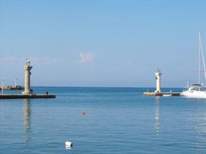 Il porto dove si dovrebbe Trovare il Colosso di Rodi