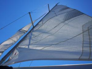 meteo rodi Grecia il Meltemi gonfia le vede di una barca