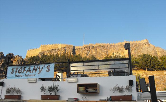 Taverna Stefani's a Lindos